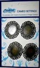 Creative Expression CAMEO SETTINGS Oval SETCAMEO Pack of 4