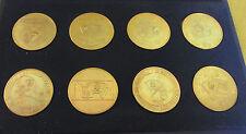 DDR Ehrengeschenk - FDJ - 8 Medaillen - Festival der Freundschaft - Lenin