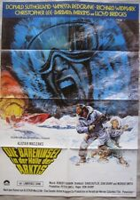 DIE BÄRENINSEL IN DER HÖLLE DER ARKTIS Filmplakat Poster DONALD SUTHERLAND
