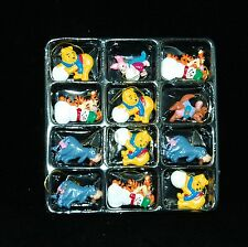 Winnie The Pooh, Eeyore, Tigger, Piglet, Roo Mini Christmas Ornaments