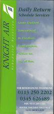 Knight Air system timetable 9/4/95 [2103]