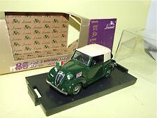 FIAT 508C CABRIOLET 1100 Officiel 1937-1939 BRUMM R86