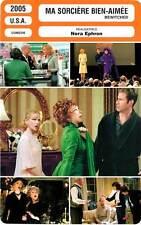 FICHE CINEMA : MA SORCIERE BIEN-AIMEE - Kidman,Ferrell,Caine 2005 Bewitched
