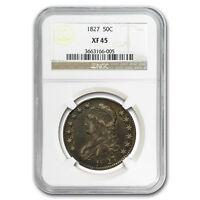 1827 Capped Bust Half Dollar XF-45 NGC