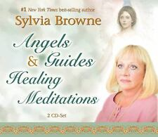 Angels and Guides : Healing Meditations by Sylvia Browne (2006, CD, Abridged)