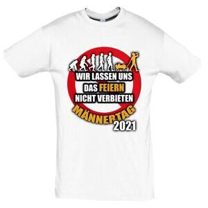 Herrentag Männertag Feiern Papa Vatertag Geschenk Print Tshirt T- Shirt Herren