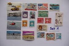 20 verschiedene Briefmarken Motiv Flugzeuge, Set 1b