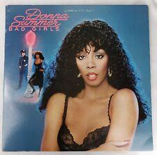 Donna Summers Bad Girls Lp Double Album Casablanca Records 1979