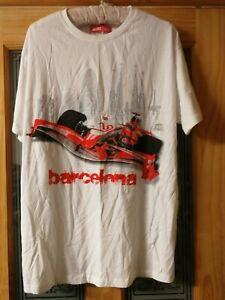 Formula 1 T shirt Catalunya Spain Circuit Barcelona size xxl