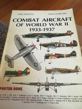 Combat Aircraft of World War II 1933-1937 Poster Book Enzo Angelucci  Matricardi
