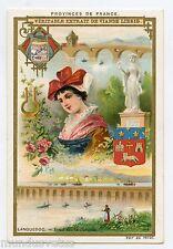 Chromo. Liebig . S533 (1897) . PROVINCES DE FRANCE . LANGUEDOC