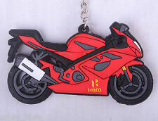 Hero HX250R Keyring Keyfob Chain Ring Motorbike Engine Exhaust 3D Ignitor
