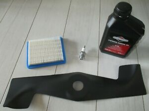 Sabo Wartungsset  Economy 43-4 43-4A 43-4EA  Zündkerze Luftfilter Messer Motoröl