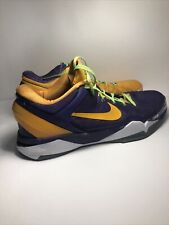 Nike Kobe Zoom VlI 7 2012 'Lakers Yin Yang' Size 14