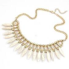 Modeschmuck-Halsketten aus Stein und Metall-Legierung
