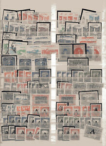 COLOMBIA, 119 AIR STAMPS LOT, VERY NICE!