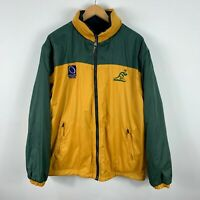 Australia Wallabies Player Issue Rugby Jacket Cooper Sports Large Reversible