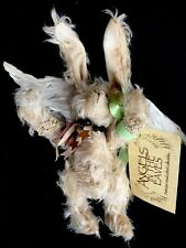 "Mohair Artist Angel Bunny Rabbit ""Flutter"" #10 Angels In The Eaves Pat Troy 9"""