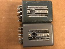 Pair of Vintage UTC A-11 Transformers Good Condition Guaranteed A11 Set of 2