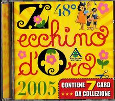 48° Zecchino d'Oro 2005 CD+Cards da collezione NEU+OVP-SEALED!