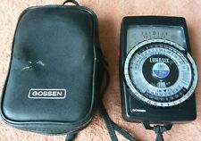 GREAT Gossen Lunasix F(Luna-Pro) light meter