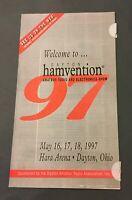 Dayton Hamvention 1997 Welcome Book Amateur Radio and Electronics Show Ham Radio