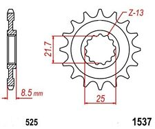 KR Ritzel 15Z Teilung 525 KAWASAKI Z 1000 03-15 New... front sprocket