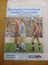 04/08/1987 Manchester International Football Tournament: At Manchester City, Tea