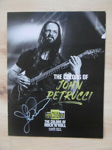 "John Petrucci ""Dream Theater"" signed 8x11 inch card autograph"
