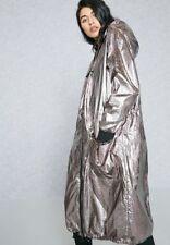 BNWT Topshop Silver Metallic Mac Parka Coat 6 £69
