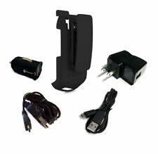 Kyocera DuraXV / DuraXV Plus Holster with Swivel Belt Clip and Power Pack Combo