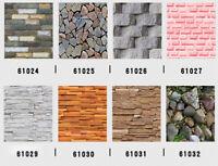 Self-Adhesive Wallpaper 3D Bricks and Stones Home DIY Decor Peel and Stick Paper