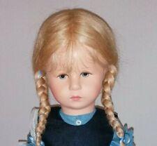 Käthe Kruse Puppe XII, 47H, Emma, 47cm, Hampelchen, inkl. Puppenständer