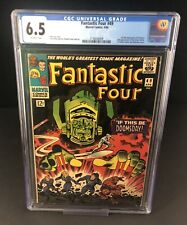 FANTASTIC FOUR #49 CGC 6.5 OW PAGES 1ST SILVER SURFER & GALACTUS COVER HOT