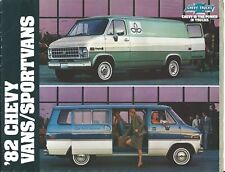 Truck Brochure - Chevrolet - Van Sportvan - Chevy - 1982 (T2332)