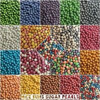 EDIBLE CRISPY PEARLS / BALLS - Edible Sugar Sprinkles for Cake Decoration