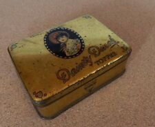 Horner toffee Dainty Dinah Toffee tin  goldtone  10x7x3cm