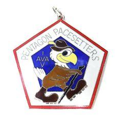 Vintage German Pentagon Pacesetters Medal Medallion I AVA V Walk 1984