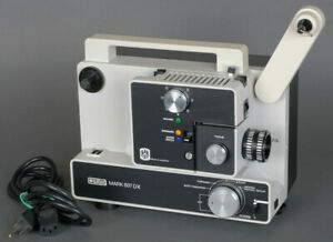 Eumig Mark 607 DX (607D) Dual 8 / Super 8 Movie  Projector Fully Tested - EX+