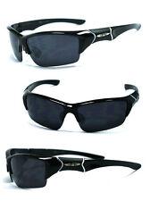 Mens Xloop Sports Cycling Fishing Semi Rimless Sunglasses UV Protect - X45 Black