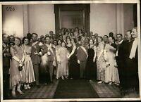 - FOTO DEL 1930ca - MILITARI DELLA REGIO ESERCITO IN SERATA ELEGANTE - TORINO