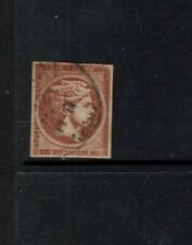 Greece 1868  1 l Mercury Fine Used Scott 23