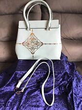 Women's Light Blueish handbag Shoulder Bag 34 Cm X 30 High Faux Style