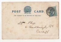 Ilfracombe 3 Aug 1903 Single Ring Postmark Devon 832b