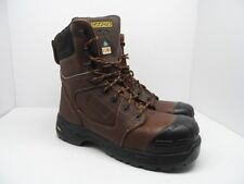 DAKOTA Men's 8'' 8410 Composite Toe Composite Plate Injected Work Boot Brown 13M