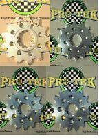 Protek Front Sprocket 520 Pitch 1997 1998 1999 2000 2001 Ninja 500 EX500R 13-17T
