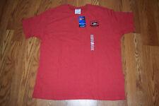 Nwt Mens Champion Unlv Red Short Sleeve Crew Ncaa Shirt Xl X-Large
