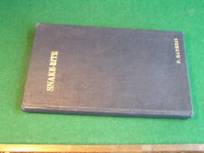 Hand Book of Snake Bite by P Banerji 1956 Presentation Copy Printed in India