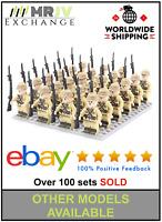 24 Minifigures Japan Army 1 Soldiers Military WW2 World War II