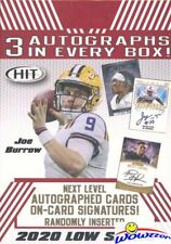 2020 Sage Football EXCLUSIVE Factory Sealed Blaster Box-3 AUTOGRAPHS+8 PARALLELS